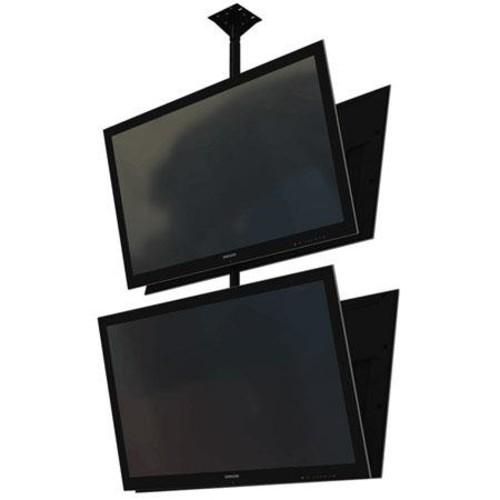 Crimson C2K55DV Dual Back to Back Screen Ceiling Mounted Monitor System C2K55DV
