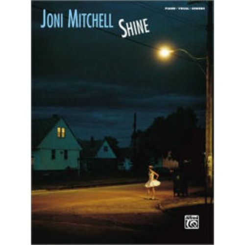 Joni Mitchell -- Shine: Piano/Vocal/Chords