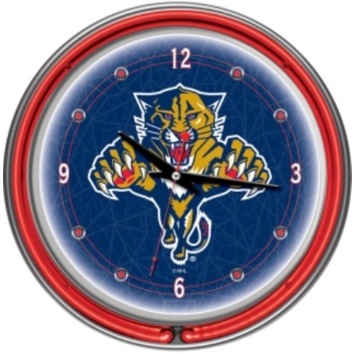 Trademark Games Florida Panthers 14'' Neon Clock
