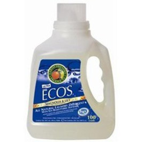 Earth Friendly ECOS Liquid Laundry Detergent Magnolia & Lily 100 oz Handle