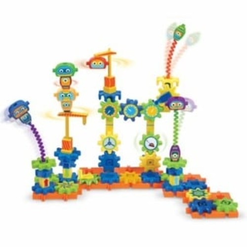 Learning Resources Gears! Gears! Gears! Robot Factory Building Set - Gears! Gears! Gears! Robot Factory Building Set