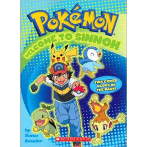 Welcome to Sinnoh Activity Book (Pokemon Series)