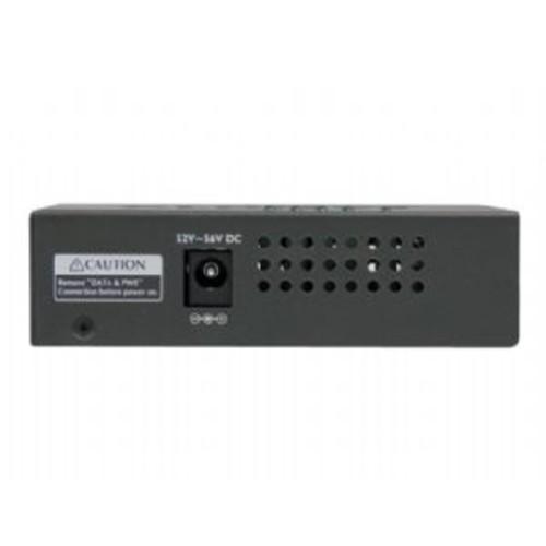 StarTech.com 4-port Gigabit Midspan - PoE+ injector - 802.3at/af - PoE injector - AC 100-240 V - 120 Watt - 4 output connector(s) (POEINJ4G)