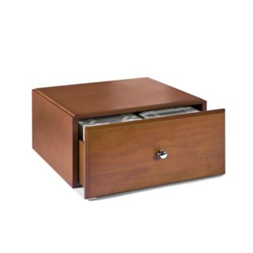 Empire Stack & Style Wood Desk Organizers Media Storage Drawers