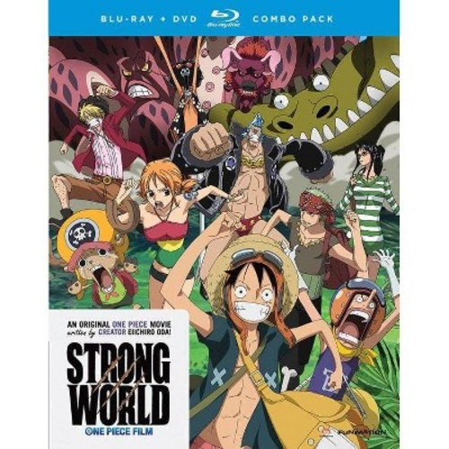 One Piece: Strong World [2 Discs] [Blu-ray/DVD]