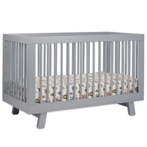 Babyletto Hudson 3-in-1 Convertible Crib in Grey
