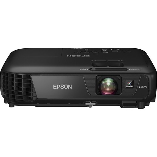 Epson - EX5250 Pro Wireless XGA 3LCD Projector - Black