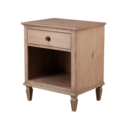 Madison Park Signature Victoria Light Natural Nightstand