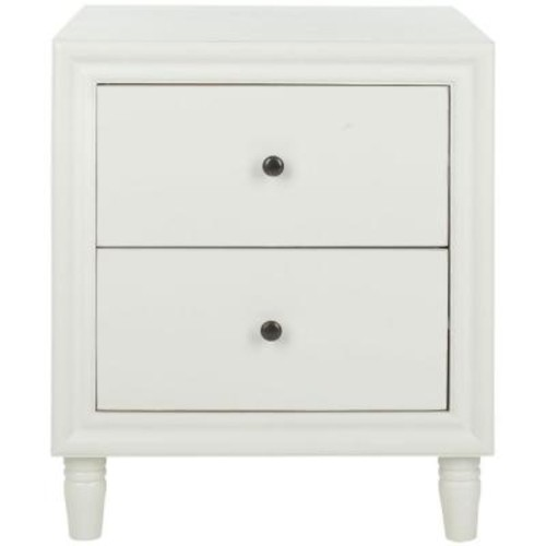 Safavieh Blaise Off White Storage End Table