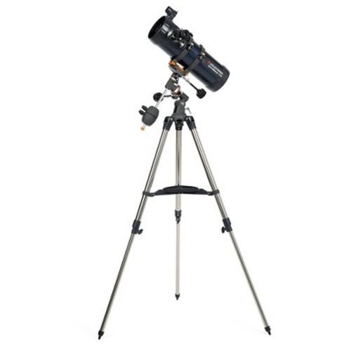 Celestron AstroMaster 114EQ Newtonian Telescope - Black