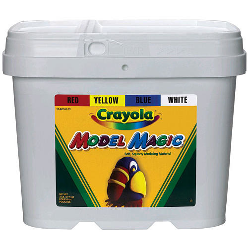 Crayola Model Magic 2lb Tub - Primaries