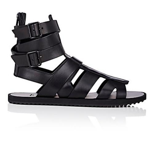 Rance Triple-Buckle Sandals