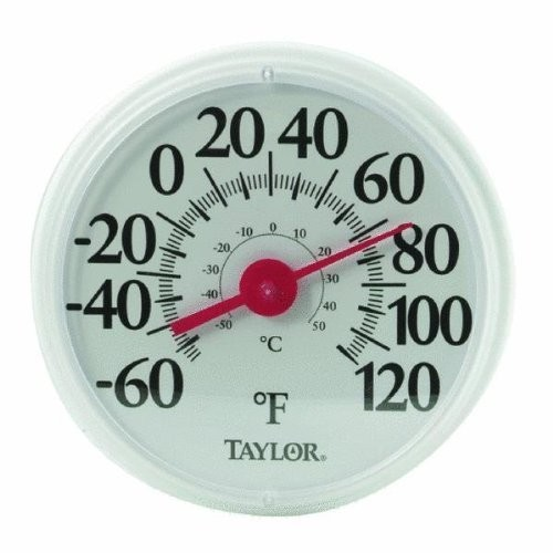 Taylor Precision Products Big and Bold Dial Thermometer