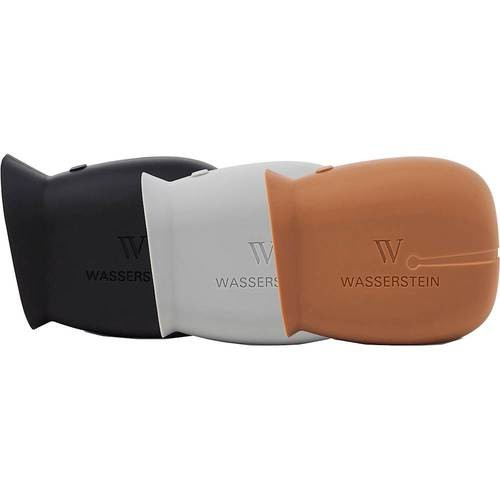 Wasserstein - Silicone Skin for Arlo Pro Smart Security Cameras (3-Pack) - Black/Brown/Gray