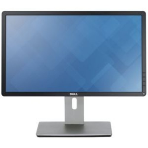 Dell 22 LED Monitor  22 Class, FHD 1920x1080, 250 cd/m2 Brightness, 8ms Response, DVI-D, DisplayPort, VGA, 2000000:1 (dynamic), Advanced Exchange Service, Black - P2214H