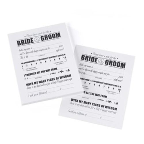 Party Game Cards 24/Pkg Bridal Shower Bingo