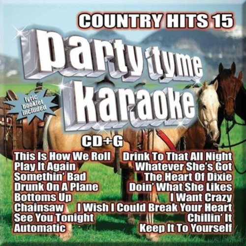 Various - Party tyme karaoke:Country hits 15 (CD)