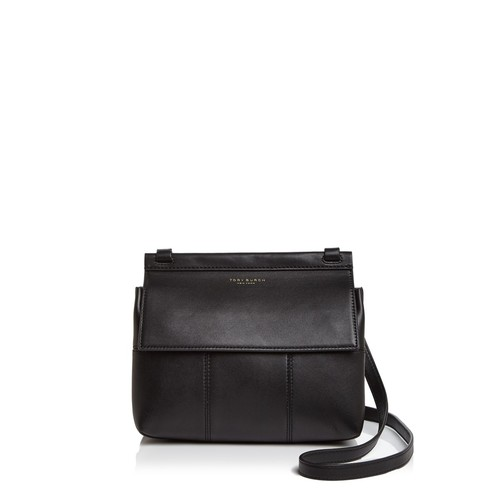 TORY BURCH Block-T Leather Crossbody