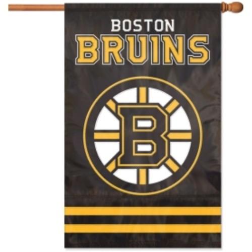 Party Animal Boston Bruins Applique Banner Flag