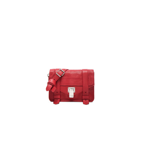 Proenza Schouler Mini Crossbody PS1 in Brick