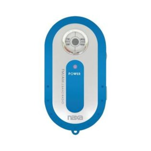 Naxa Nr720bl Am Fm Mini Pocket Radio (Blue)
