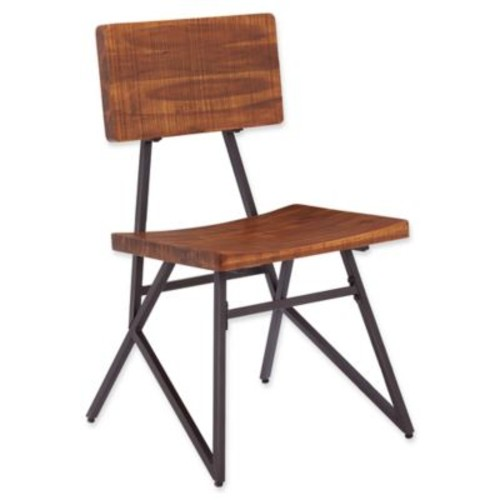 INK+IVY Trestle Dining Chairs (Set of 2)