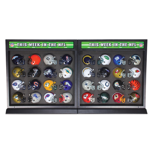 Riddell NFL Helmet Match-Up 32 Piece Helmet and Display Set