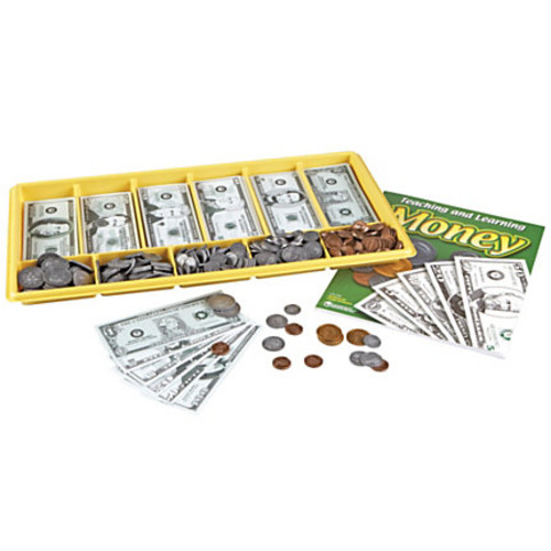 Learning Resources Giant Classroom Money Kit, Ages 5-9