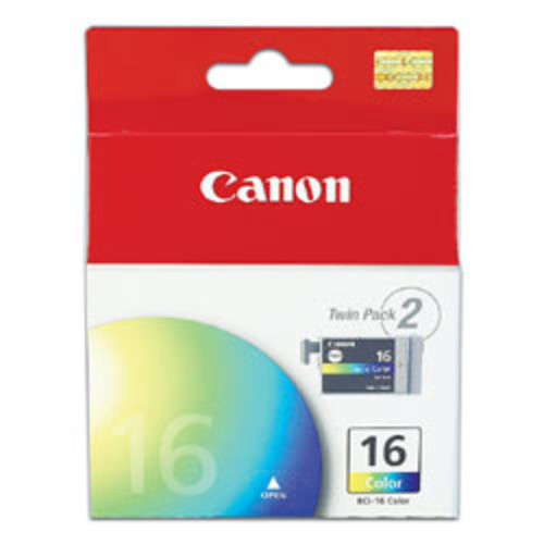 Canon BCI-16 Tricolor Ink Tanks (9818A003), Pack Of 2