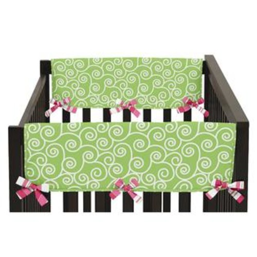 Sweet Jojo Designs Olivia Collection Side Crib-rail Guard Covers (Set of 2)
