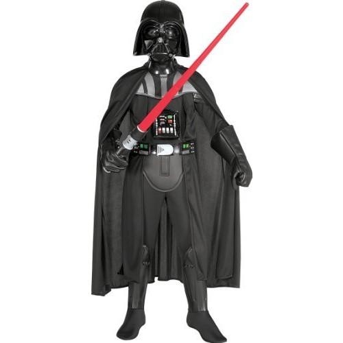 Little Boys' Child Deluxe Darth Vader Costume [Black, Medium]