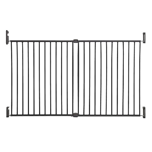 Dreambaby Broadway Extra Wide Gro-Gate in Charcoal