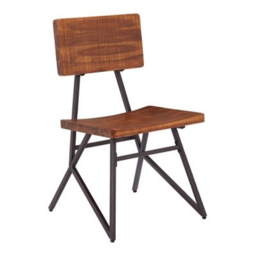Ink + Ivy Trestle Solid Wood Dining Chair (Set of 2)