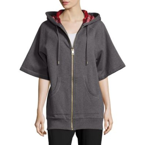 BURBERRY Short Sleeve Hooded Jacket