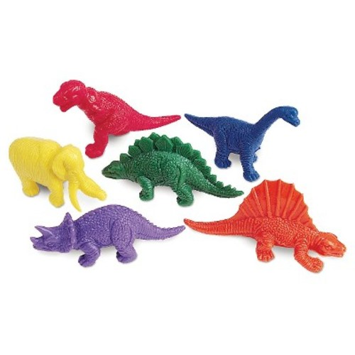 Learning Resources Mini-Dino Counters Set - 108 Piece