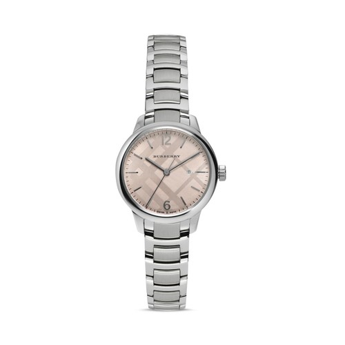 BURBERRY Check Dial Watch, 32Mm