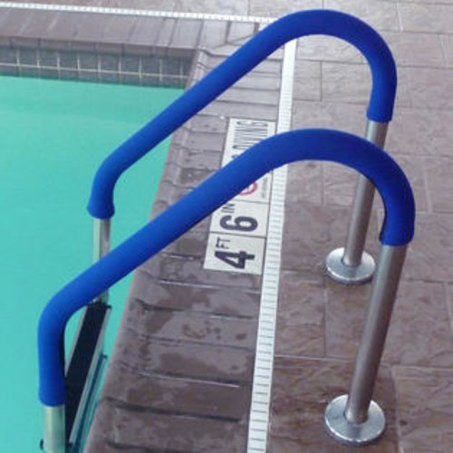 Blue Wave Grip for Pool Handrails