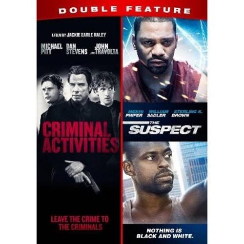 Criminal Activities/Suspect (DVD)