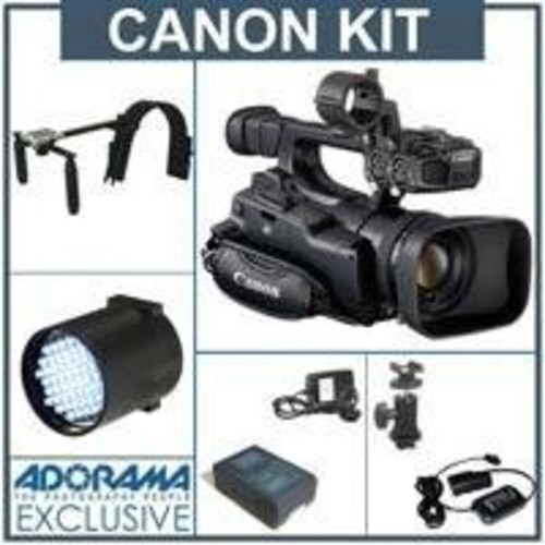 Canon XF-100 High Definition Professional Camcorder with - Deluxe - Bundle