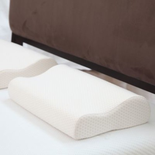 Remedy Deluxe Contour Memory Foam Pillow With Cover