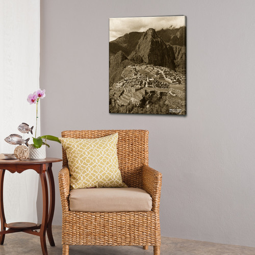 Bruce Bain 'Machu Picchu' Canvas Wall Art