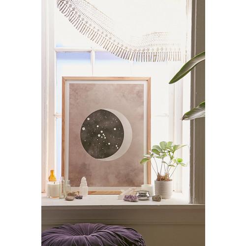 Claire Goodchild Moon & Stars Taurus Art Print [REGULAR]