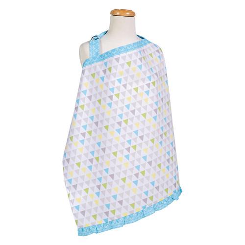 Trend Lab Triangles Multicolored Nursing Cover