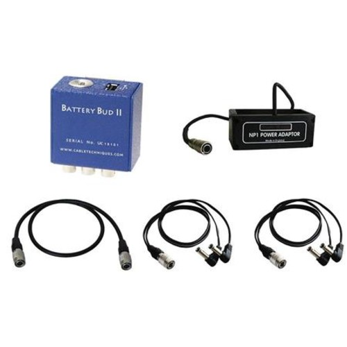 Cable Techniques BBUDUKIT-SR Battery Bud II-USB DC Distribution Box Kit BBUDUKIT-SR