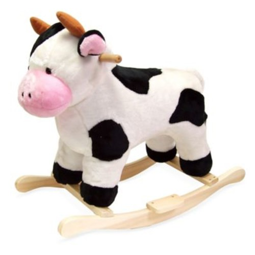 Happy Trails Plush Rocking Cow