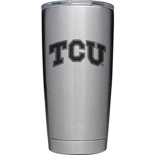 YETI TCU Horned Frogs 20 oz. Rambler Tumbler with MagSlider Lid