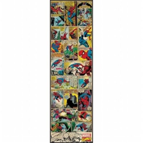 ROOMMATES Marvel Comic Panel - Spiderman Classic Peel and Stick Giant Wall Decal