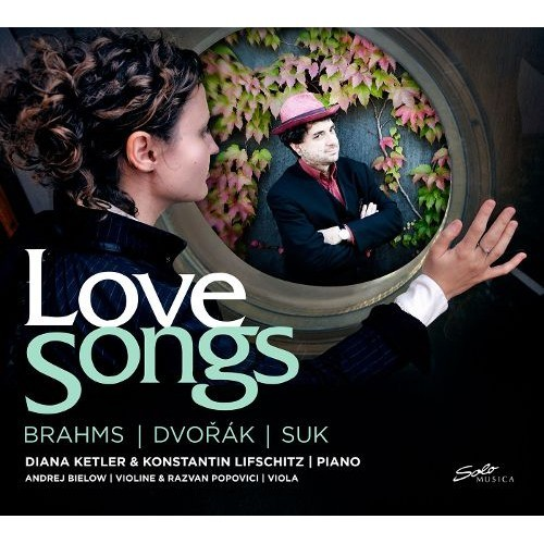Love Songs: Brahms, Dvork, Suk [CD]