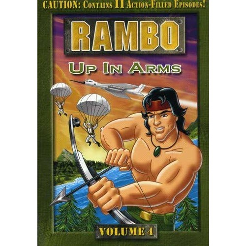Rambo: Animated Series - Volume 4 - Up In Arms