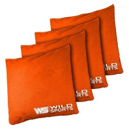 Wild Sports 16oz Bean Bag Authentic Cornhole 4 Pack